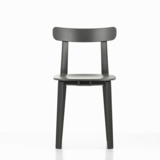 All Plastic ChairAll Plastic Chair stoel graphite grey