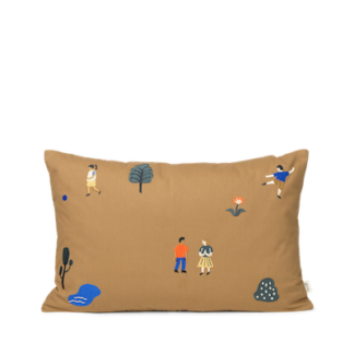 The park cushionthe park cushion - natural - 60x40 cm