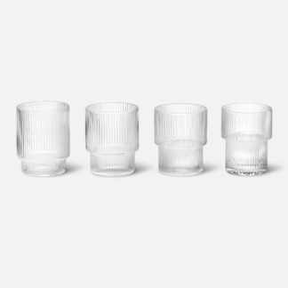 Ripple GlassRipple Glass (set van 4)