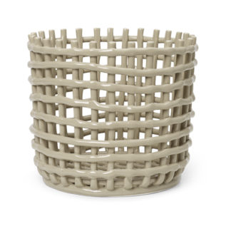Ceramic basketCeramic basket, large