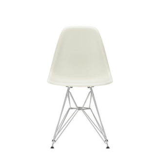 DSREames Plastic Side Chair, kiezelsteen