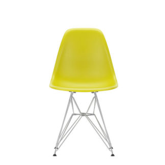 DSREames Plastic Side Chair, mosterd