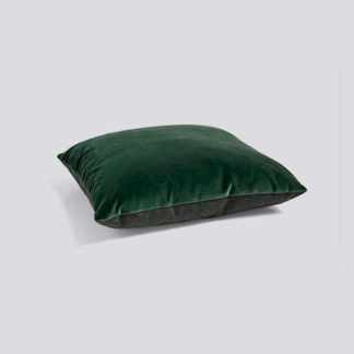Eclectic CollectionEclectic cushion, donkergroen - fluweel